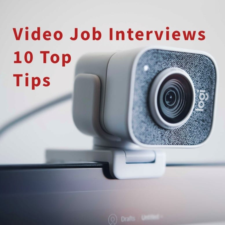 Tips on passing your video job interview